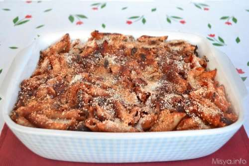 Pasta ricette Pasta al forno ai peperoni