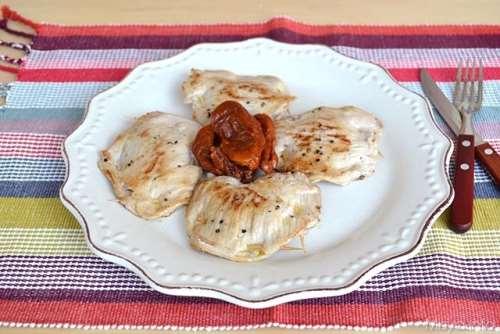 Ricette Secondi piatti Saltimbocca di maiale con pomodori secchi