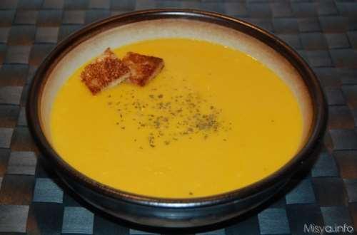 Secondi piatti ricette Vellutata di zucca bimby
