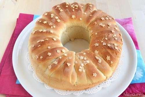 Corona di pan brioche
