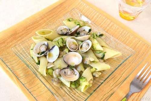 Primi piatti ricette Pasta con zucchine e vongole