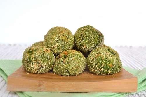 ricette Polpette di spinaci e ceci