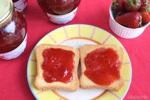 Ricette Conserve Marmellata di fragole