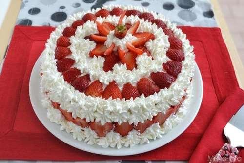 Torte ricette Torta alle fragole