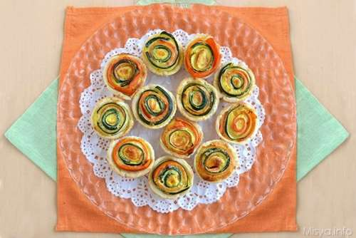 Ricette  Mini quiche salate alle verdure
