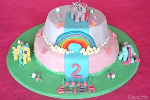 Ricette per bambini Torta my little pony