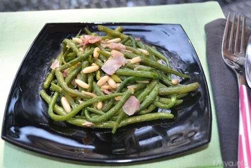 Contorni ricette Fagiolini saltati in padella