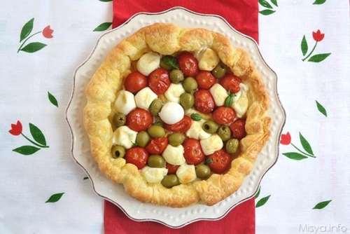 Torte salate ricette Sfogliata napoletana