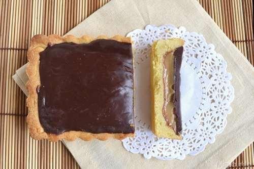 ricette Twix tart