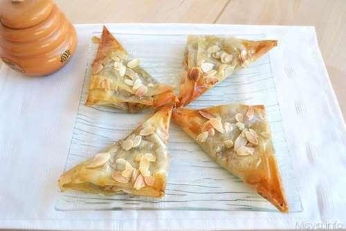 ricette Fagottini di pasta fillo e fichi