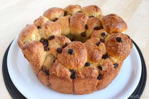Ricette Pane e Brioches Monkey bread