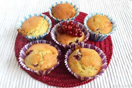 Muffin dolci ricette Muffin ai ribes
