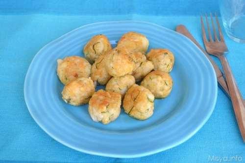 Ricette Secondi piatti Polpettine di platessa e pinoli