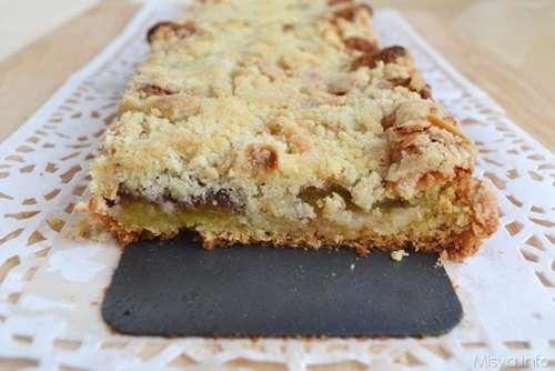 ricette Torta crumble di prugne