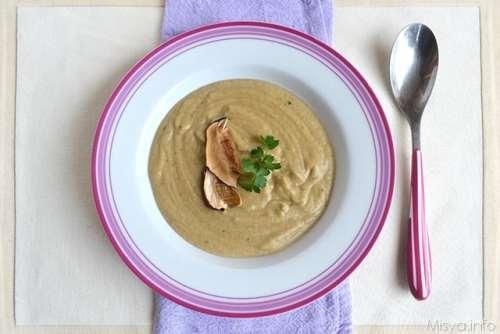 Ricette Minestre e zuppe Vellutata di funghi porcini