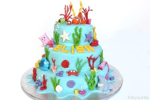 Decorazioni torte ricette Torta Nemo a 3 piani