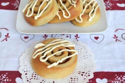 Ricette Pane e Brioches Cinnamon rolls