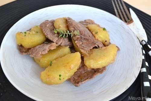 ricette Rosticciata di carne e patate