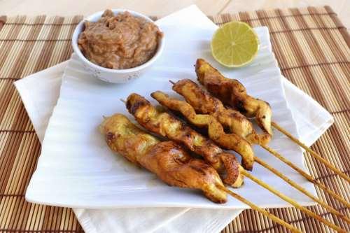 Ricette  Satay di pollo