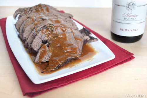 Piatti tipici piemontesi ricette Brasato al barolo