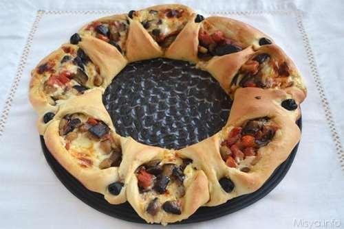 Ricette Pane e Brioches Brioche Fiore del mediterraneo