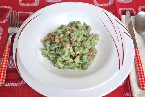 trentine ricette Spatzle agli spinaci