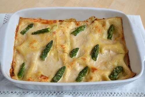 Ricette  Lasagne agli asparagi
