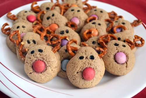 Ricette Biscotti Biscotti renna