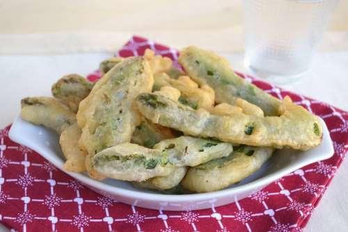 Ricette Contorni di verdure Asparagi fritti
