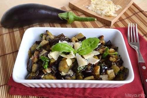 Ricette  Melanzane al parmigiano