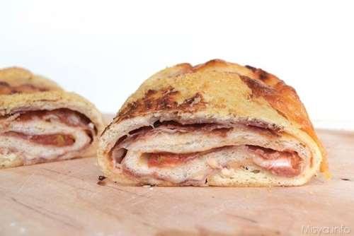 Ricette Pizze ripiene Pizza Stromboli