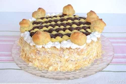 Ricette  Torta Saint-Honorè