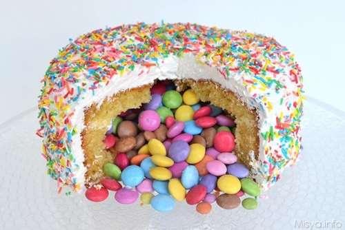 Ricette Decorazioni torte Torta sorpresa