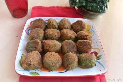 Ricette Finger food Polpette di tacchino e spinaci