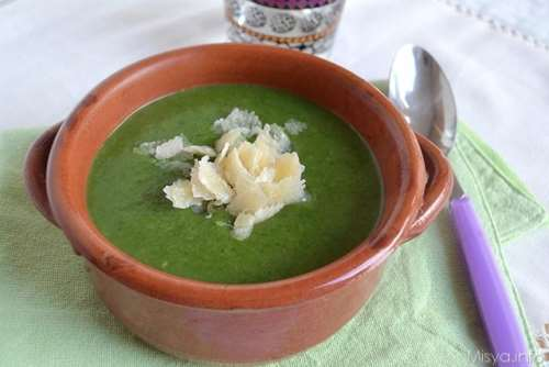 Minestre e zuppe ricette Vellutata di bietole