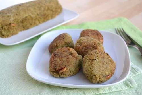 ricette Polpette broccoli e quinoa