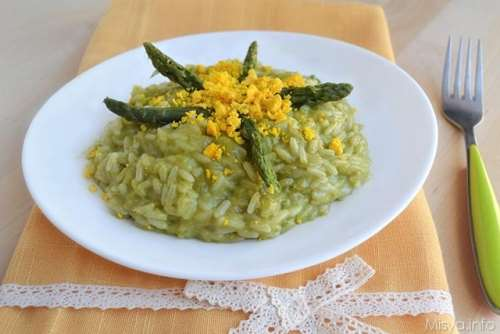 ricette Risotto mimosa