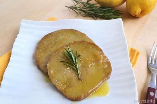 ricette Scaloppine di seitan al limone