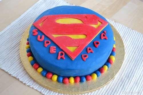 Decorazioni torte ricette Torta Superman