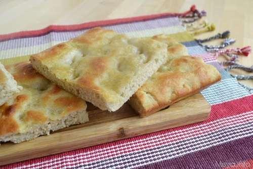 Pizze e Focacce ricette Focaccia genovese