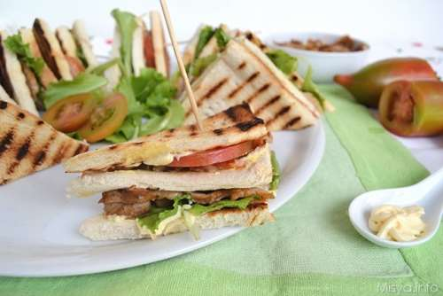 Ricette Finger food Club Sandwich