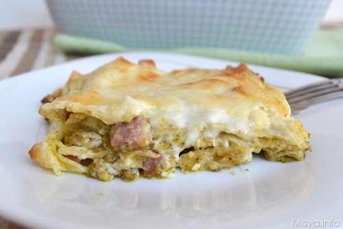Primi piatti ricette Lasagne al pistacchio