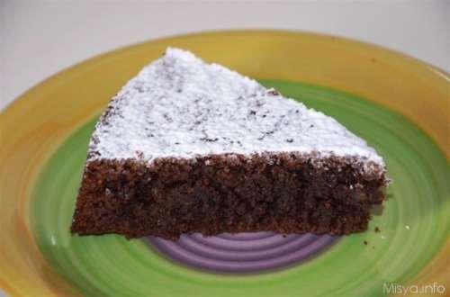 Dolci ricette Torta Caprese bimby