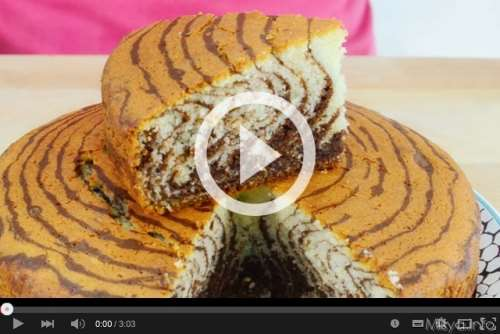 Video ricetta Zebra Cake