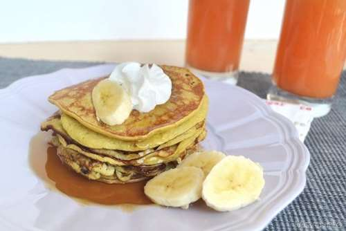 Dolcetti ricette Banana pancakes