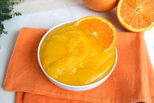 Ricette  Crema all'arancia senza uova