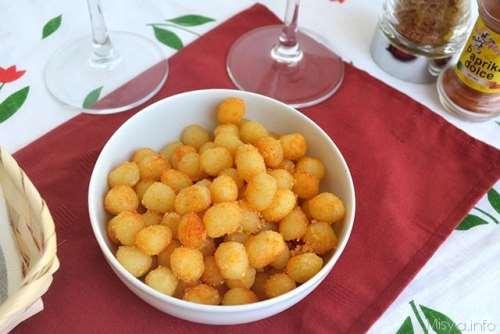 Finger food ricette Gnocchetti fritti