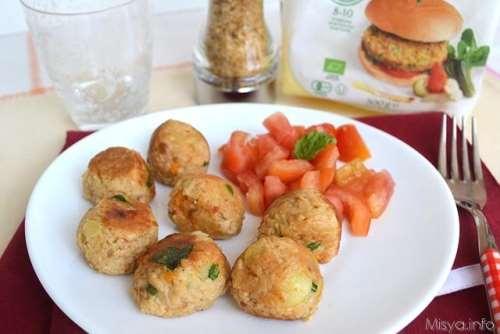 Secondi piatti ricette Polpette di soia