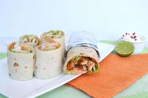 ricette Chicken rolls