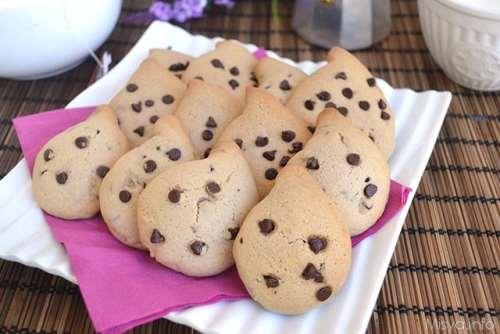 Biscotti ricette Gocciole